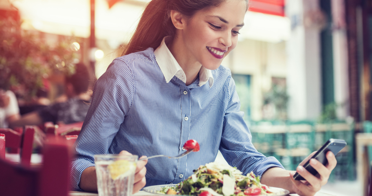 smart working pausa pranzo