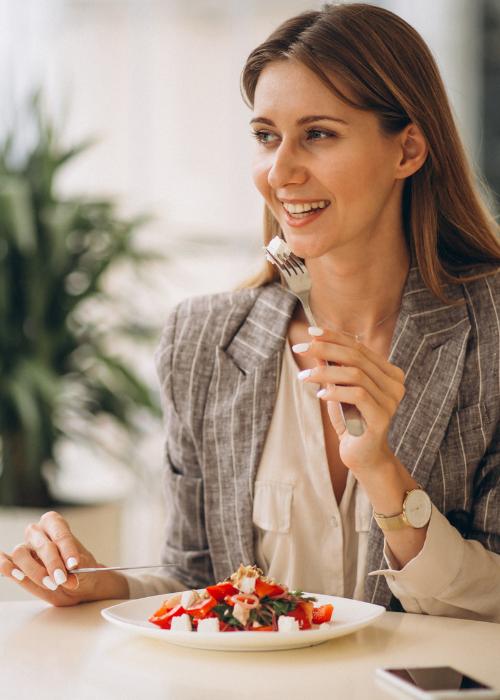 pausa pranzo aziendale covid